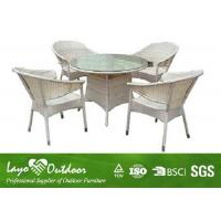 Wholesale UV Resistan Outdoor Patio Furniture Sets With 5pcs Bistro Garden Table Rattan Chair from china suppliers