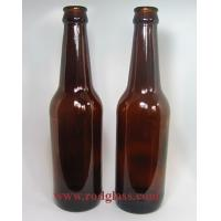 Wholesale 330ml amber beer glass bottle from china suppliers