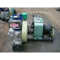 Wholesale Safe / Reliable Diesel Engine Wire Rope Winch 1 Year Warranty Cable Pulling Winch from china suppliers
