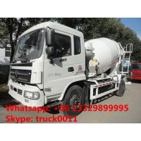 Wholesale best quality factory sale 6*4 Dongfeng 5- cubic meters concrete mixer truck, dongfeng 6m3 concrete mixer truck from china suppliers