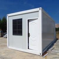 Buy cheap China manufacture white bolted container house 3mx6mx2.7m, folding container house. from wholesalers