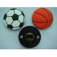 Wholesale cute bottle opener with PVC coated for promotion gift from china suppliers