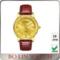 Wholesale Stainless Steel Case 18k Solid Gold Watches For Ladies Adjustable Size from china suppliers