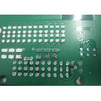 Wholesale custom Six layers impedance Chemical tin profiling punching Routing PCB board from china suppliers