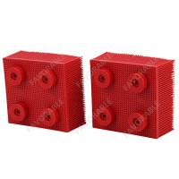 Wholesale Red Nylon Bristles Round Foot  Suitable For VT5000  VT7000 Auto Cutter from china suppliers