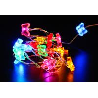 Quality Battery powered butterfly led copper wire fairy string for sale