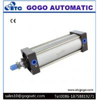Wholesale Standard Air Cylinder Double Acting , Pneumatic Actuator Cylinder 40mm Bore 250mm Stroke from china suppliers