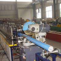 Wholesale 410 mm Rain Gutter Making Machine High Efficiency Gutter Roll Forming Machine from china suppliers