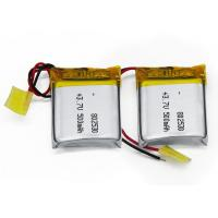 Wholesale 802530 500mah 3.7V Lithium Polymer Rechargeable Battery With 50 MA Standard Charge Current from china suppliers
