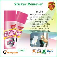 Wholesale Industrial Cleaning Supply , Car Window / Paste Sticker Remover Spray 450ml from china suppliers