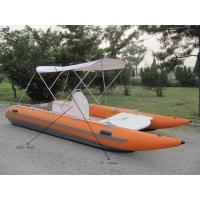 Wholesale Strong Catamaran Work Boat Durable And Hand Crafted With SS Transom from china suppliers