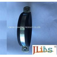Wholesale M8+M10 Rubber lined High strength Heavy duty hose clamp cast iron pipe clamp from china suppliers