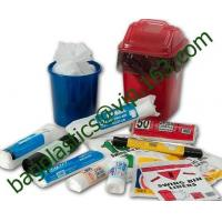 Wholesale MDPE liner, swing bin liner, white bags, green bags, black bags, nappy bags, bin bags from china suppliers