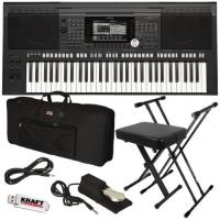 Buy cheap Yamaha PSR-S970 Arranger Workstation Keyboard STAGE ESSENTIALS BUNDLE from wholesalers