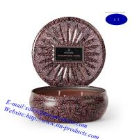 Wholesale Candle Box/ Candle Tin Box/ Candle Holder/Tin Candle Holder from Goldentinbox.com from china suppliers