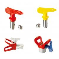 Wholesale Blue / Red / Yellow / Black Spray Tips Airless Sprayer Accessories With OEM Service from china suppliers