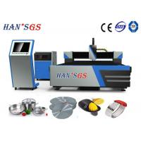 Wholesale 1500W Steel Pipe Laser Cutting Machine For Mechanism Parts , Kitchenware from china suppliers