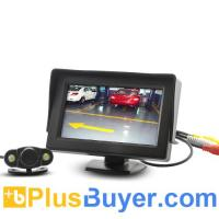 Wholesale 4.3 Inch Rearview Monitor + Wireless Nightvision Camera from china suppliers