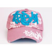 Wholesale 5 Panel Cotton 3d Embroidery Baseball Caps / Snapback Hats For Spring from china suppliers