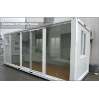 Wholesale Galvanized Steel Frame 20ft Standard Glass Container House For Shop from china suppliers