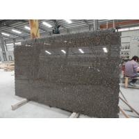 Wholesale Standard Size Baltic Brown Granite Kitchen Slab , Heavy Duty Stone Granite Slabs from china suppliers