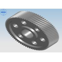 Wholesale Heat Treated Precision Single Steel Helical Gears With Diameter Up To 2400mm from china suppliers