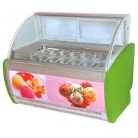 Wholesale Electric Ice Cream Display Counters Freezer 16 Tanks 1605 * 1120 * 1386MM from china suppliers