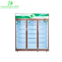 Buy cheap -18℃ Upright Pepsi Commercial Beverage Display Freezer With Glass Door from wholesalers