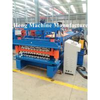 Wholesale Integrity Galvanized Roofing sheet roll forming machine for industrial house from china suppliers