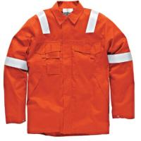 Wholesale Big And Tall Welding Flame Resistant Clothing Orange Color High Vis from china suppliers
