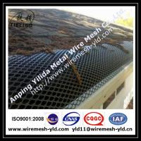 Wholesale black color aluminum expanded metal gutter guard,gutter mesh from china suppliers