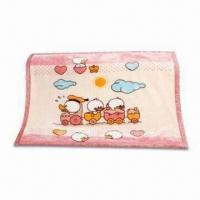 Wholesale Children's Blanket with Double Layers, Made of Acrylic, Measures 110 x 140cm from china suppliers