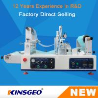 Wholesale KJ-6018 Lab Continuous Hot Melt Coater , Hot Melt Coating Machine Digital Control from china suppliers