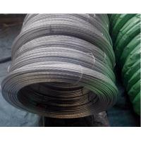 Buy cheap Non - Alloy Galvanized Stay Wire SWG 7/8 With Coil BS183 And EN10244 from wholesalers