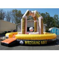 Wholesale 29 Ft 4 Person Funny Inflatable Sports Games Inflatable Wrecking Ball Playground from china suppliers