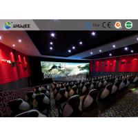 Quality Special Effect Large Curved Screen 5D Movie Theater Dynamic Chair for sale