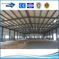 Wholesale Low cost pre engineering prefabricated steel structure construction building from china suppliers