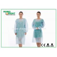 Wholesale Sterile Reinforce SMS Disposable Isolation Gowns with Elastic Wrist from china suppliers