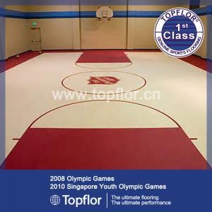 BV standard pvc sports basketball flooring in stock