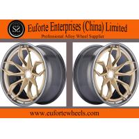 "Wholesale 22"" brown 2-PC forged wheels/New style from china suppliers"