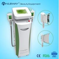 Buy cheap Frozen fat cryolipolysis cool shaping machine / cryotherapy for fat removal from wholesalers