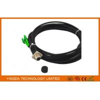 Wholesale ODC Female Black Fiber Optic Patch Cord 4 Cores LC Optical Cable from china suppliers