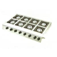 Wholesale Commercial Stainless Steel Gas / Electric Cooking Range With 8 Burners from china suppliers