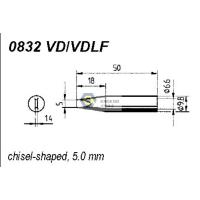 Wholesale ERSADUR 0832VD VDLF Long-Life Soldering Tip for ANALOG 60/60A,ANALOG 80/80A,DIGITAL 2000A from china suppliers
