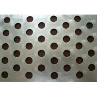 Wholesale Customized different hole 1mm Iron plate Galvanized perforated metal mesh from china suppliers