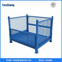 Buy cheap Wire cage warehouse galvanized metal collapsible wire cage from wholesalers