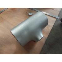 Wholesale ASTM A815 WPS32205 reducing tee from china suppliers