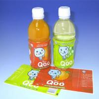 Wholesale Hand Application Printed Shink Sleeve Lables /  Wrap For Beverage Bottle Packaging from china suppliers