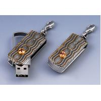 Wholesale ODM High Capacity Jewelry Usb Flash Drive Sticks 8G, 16G, 32G in Metal from china suppliers