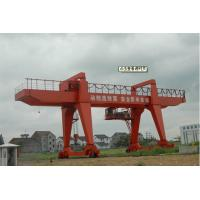 Large Capacity Double Girder Shipbuilding Gantry Crane For Building Ship